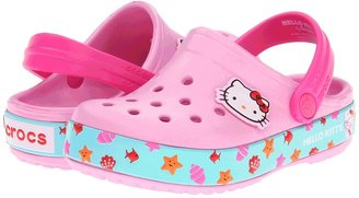 Crocs Girls Crocband Hello Kitty Clog Girls Shoes