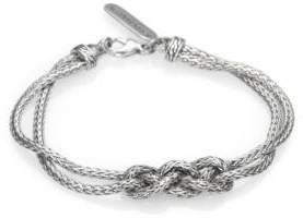 John Hardy Classic Chain Sterling Silver Braided Knot Bracelet