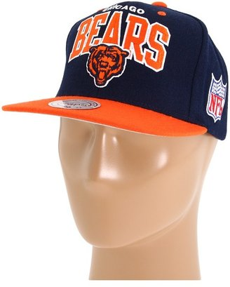 Mitchell & Ness NFL Throwbacks 2-Tone Arch w/Logo Snapback - Chicago Bears (Chicago Bears) - Hats