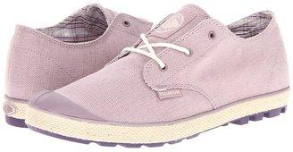 Palladium Slim Oxford (Elderberry/Ecru) - Footwear