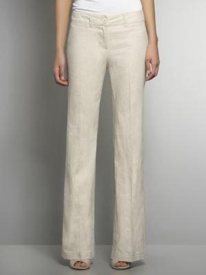 New York & Co. Linen Flare Trouser