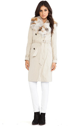 Gryphon Fox Plate Collar Winter Trench