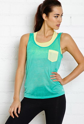 Forever 21 Active Easy Burnout Gym Tank