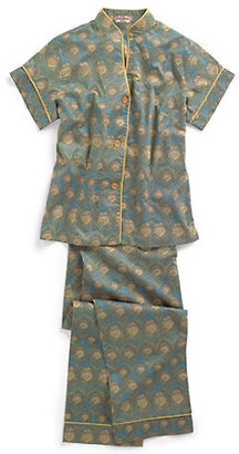 Liberty of London Designs Peacock Pajamas