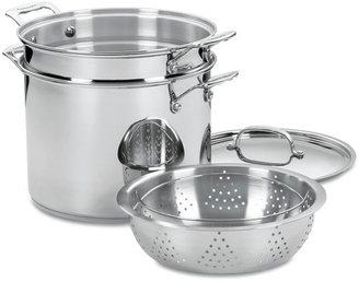 Cuisinart Chef's Classic 4 Piece 12 Qt. Stainless Steel Pot Set