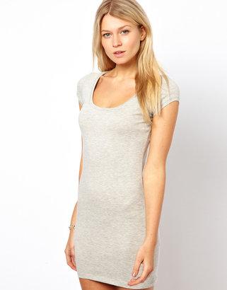 Vila Body-Conscious Dress with Short Sleeve