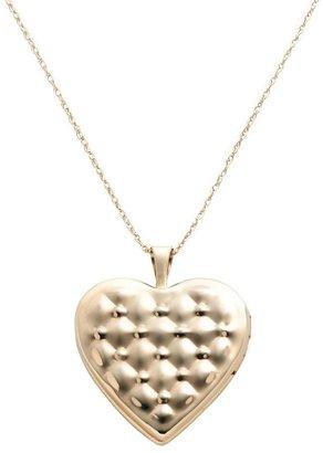"Love Hearts 10k Gold ""Love"" Heart Locket"