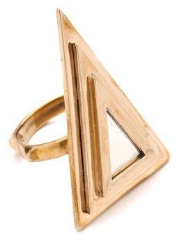 Pamela Love Two Tone Pyramid Ring