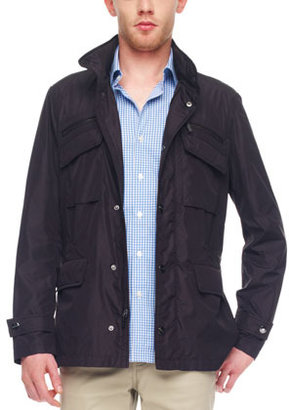 Michael Kors Nylon Utility Jacket