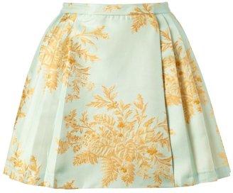Zimmermann Light Blue Valiant Brocade Skirt