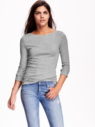 Old Navy 3/4-Sleeve Boat-Neck Top