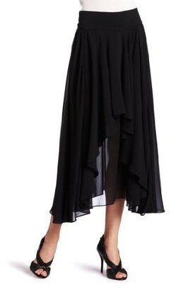 WGACA WHAT GOES AROUND COMES AROUND Women's Mansfield Full Silk Skirt