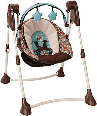 Graco Swing By Me Portable Swing - Little Hoot