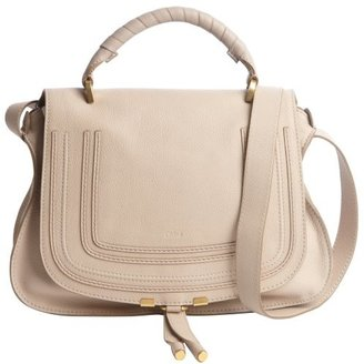 Chloé beige leather 'Marcie' convertible tote