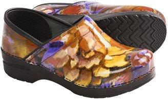 Dansko Professional Print Clogs - Patent Leather (For Women)