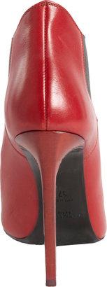 Saint Laurent Paris Pointed Toe Ankle Boot
