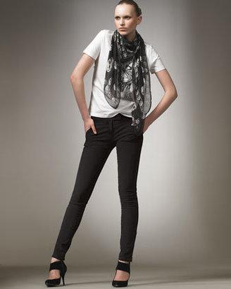 Alexander McQueen Angled-Pocket Jeans
