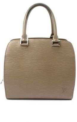 Louis Vuitton Pre-owned: grey epi leather 'Pont Neuf' vintage bag