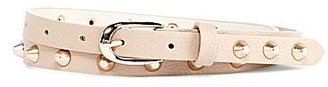 JCPenney Asstd Private Brand Studded Skinny Belt
