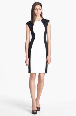 Donna Morgan Colorblock Sheath Dress (Online Only)
