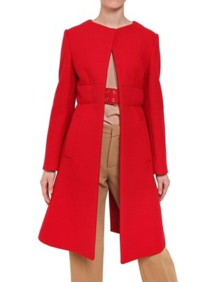 Marni Washed Wool Cloth Coat
