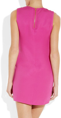 Vince Silk-georgette shift dress