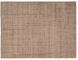 Nourison Industries Ash Leather-Blend Rug, Chestnut