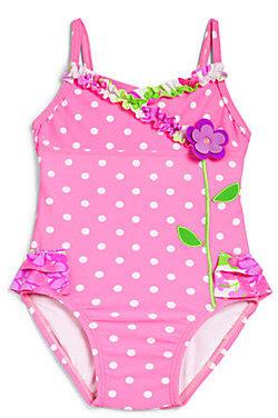 Hartstrings Infant's Polka Dot Swimsuit
