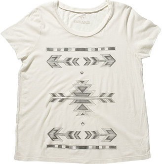Nine West Tribal Tattoo Tee Shirt