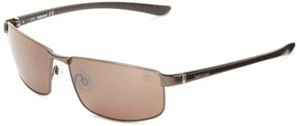 Timberland Men's Tb9035sw49h Polarized Wrap Sunglasses