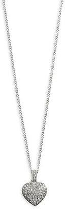 Judith Jack Women's Reversible Pave Heart Pendant Necklace - Heart