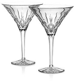 Waterford Tall Martini Glass, Set of 2