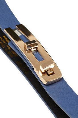 Topshop Metal Bar Twist Lock Belt