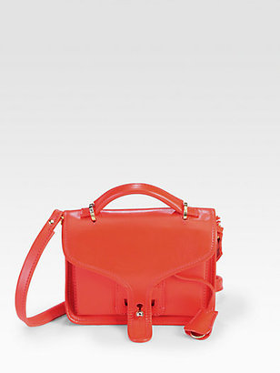 Opening Ceremony Leather LA Small Top-Handle Bag