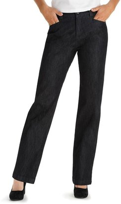Lee Relaxed Straight-Leg Jeans - Petite