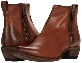 Frye Sacha Moto Shortie (Black) Women's Pull-on Boots