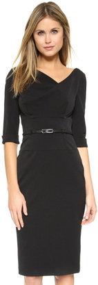 Black Halo 3/4 Sleeve Jackie O Dress $345 thestylecure.com