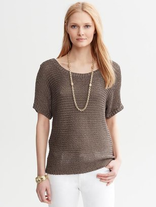 Banana Republic Heritage Open-Knit Pullover