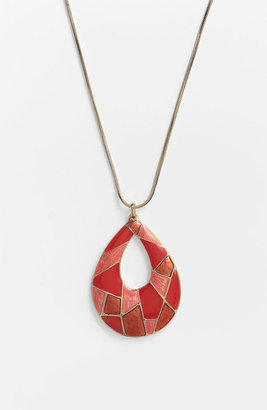 Nordstrom 'Mosaics' Reversible Pendant Necklace