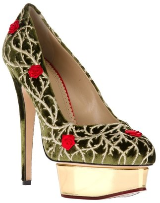 Charlotte Olympia 'Dolly Rose' pump