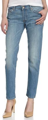 7 For All Mankind Josefina Skinny Boyfriend Jeans