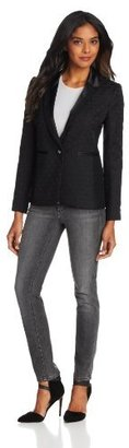 Juicy Couture Women's Paulina Jacquard Blazer