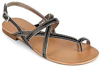 Liz Claiborne Sonny Flat Slingback Sandals