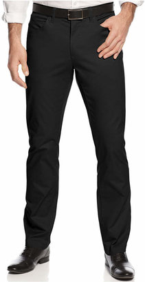 Alfani Big and Tall Cotton Stretch Pants $79.50 thestylecure.com