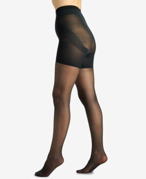 Berkshire Women's Shaping Firm All The Way Butt Booster Tummy Control Top Pantyhose 5051