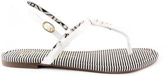 Jessica Simpson Rosetta White Sandals