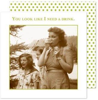 Shannon Martin Vintage Drink Paper Cocktail Napkins