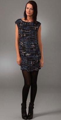 BB Dakota Matson Abstract Print Dress