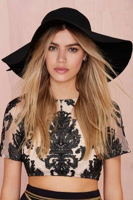 Nasty Gal Factory Carissa Floppy Hat