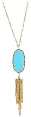 Kendra Scott Rayne Necklace (Turquoise) - Jewelry